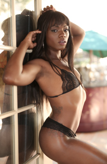 Lesbian Beauties #19 - All Black Beauties Picture