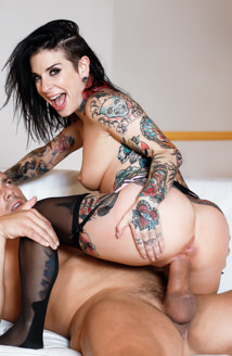 Cum On My Tattoo - Joanna Angel Picture